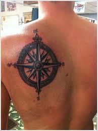 compass tattoo design on shoulder back brújula pinterest