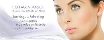 Collagen Mask 24k gold collagen mask feel the freeze