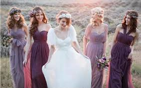 flowy bridesmaid dresses eight ways to wear the dresses strapless black floor length crepe
