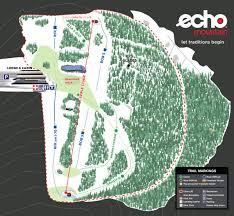 Colorado Ski Resorts Map Trail Map To Understand Ski Snowboard Path Echomountainresort Com