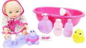 Baby Bath Tub With Shower Baby Doll Bathtime With Shower And Bathtub How To Bath Babydolls
