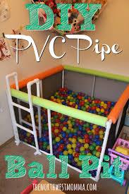 salle de jeux adulte diy pvc pipe ball pit salles de jeux jeu et salle