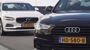 jaguar xf czy lexus gs anwb dubbeltest audi a6 vs volvo s90 2016 youtube