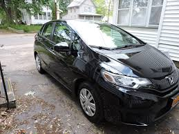 honda jeep 2015 the first true test of my new honda fit hauling shrubs notes