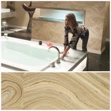 Powder Room Chico Ca Candice Olson Onyx Wallpaper As Seen On Tv U0027s Modern Family Season