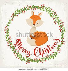 merry christmas unicorn card hand drawn stock vector 731763256