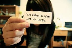 You Know My Name Not My Story Meme - you know my name