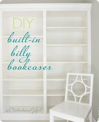 Deep Billy Bookcase From Billys To Built Ins Centsational Style
