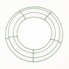 wreath supplies 10 inch green wire wreath frame metal wreath forms