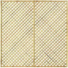 6ft x 5ft hillside diamond trellis james smith fencing