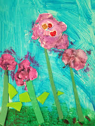 create a 3d painting with model magic flowers the painterly path