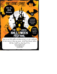 upcoming events the 30th annual halloween festival at carver
