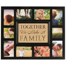 burnes of boston photo albums burnes of boston burlap together we make a family collage frame