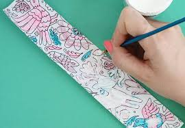 diy mother u0027s day bracelets using coloring pages persia lou