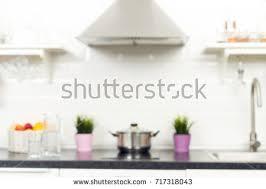 home interior decoration items interior light kitchen apartment bright home stock photo 714377425