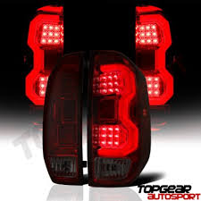 Tundra Led Lights Toyota Tundra 2014 2017 Tinted Led Tail Lights Tube A1418lyk109
