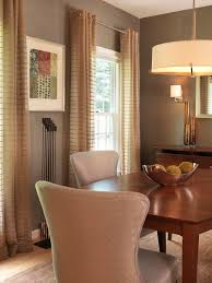 Curtains For Light Brown Walls Dining Room Curtains Ideas Chandelier Vertical Folding Curtain