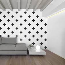 cross home decor swiss cross pattern wall decals plus sign design vinyl bedroom