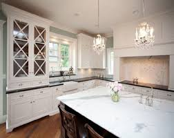 glass for kitchen cabinet doors for sleek display antique white
