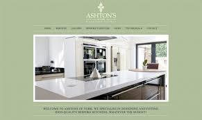 kitchen design companies kitchen design companies website design for ashtons of york