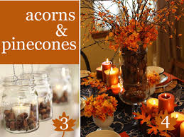 Table Centerpieces For Thanksgiving Thanksgiving Table Vase Fillers