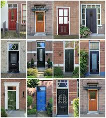 collage of dutch front doors stock photo picture and royalty