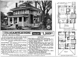 Craftman Style Home Plans by 1900 Sears Homes And Plans American Foursquare Home Plans 1000