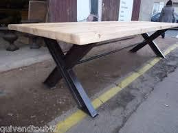bureau industriel grand bureau industriel table de reunion de 3 m ebay