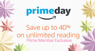 is there no black friday or cybermonday this year on amazon save up to 40 on kindle unlimited amazon prime members only