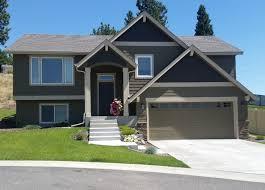 split level house split level house craftsman exterior seattle by spokane