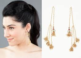 earrings trends indian ear cuff trend rodarte style the luxe report