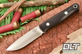 bark river kitchen knives bark river knives bushcrafter black canvas micarta