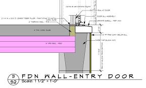 Exterior Door Sills Exterior Door Sill Detail Exterior Doors Ideas