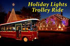 holiday lights trolley chicago holiday lights trolley ride dallas another1st org