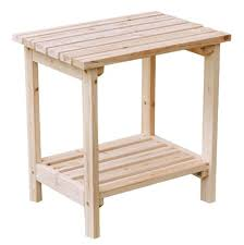 Patio Side Tables Review Shine Company Rectangular Patio Side Table Small Natural