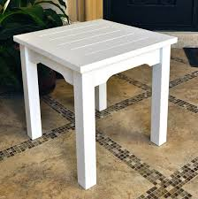 End Table Ls Square Plastic Table