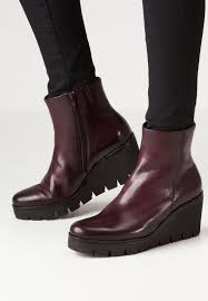 womens boots gabor ankle boots gabor wedge boots merlot gabor shoes usa