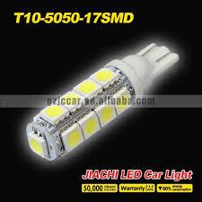 quality products led automotive 12v 17smd 5050 t10 led bulbs