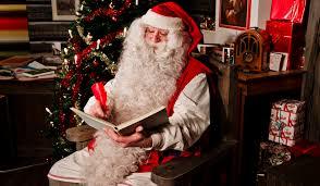 house santa claus and exhibition santa claus