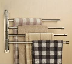 decor heated wall mounted towel rack for modern bathroom
