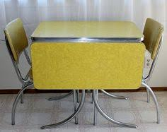 vintage kitchen table and chairs chrome vintage 1950 u0027s formica