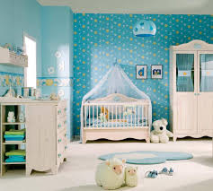 baby nursery bedroom designs chair corner beside striped curtain