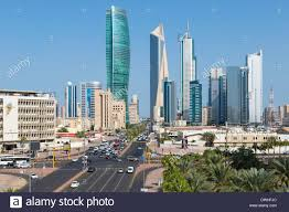 Modern City by Kuwait City Modern City Skyline And Central Business District