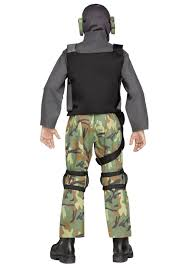 Boys Military Halloween Costumes Boys Skull Soldier Costume