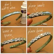 jeweled headbands diy jeweled headband