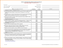checklists project inspection checklist sample home lessons