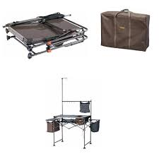 Small Portable Complete Camp Camping Kitchen Sink Table Supplies W - Oztrail camp kitchen deluxe with sink