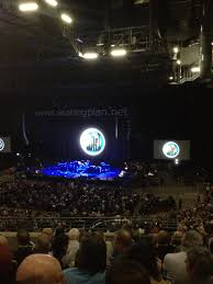 first direct arena view from seat block 217