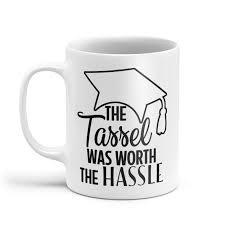 graduation mug mugtastic mugs ceramic mugs the tassel was worth the hassle