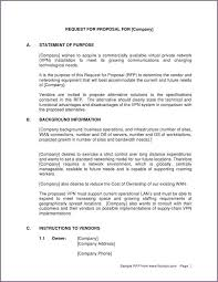 Business Letter Format For Request Request For Proposal Cover Letter Sample Proposalsampleletter Com
